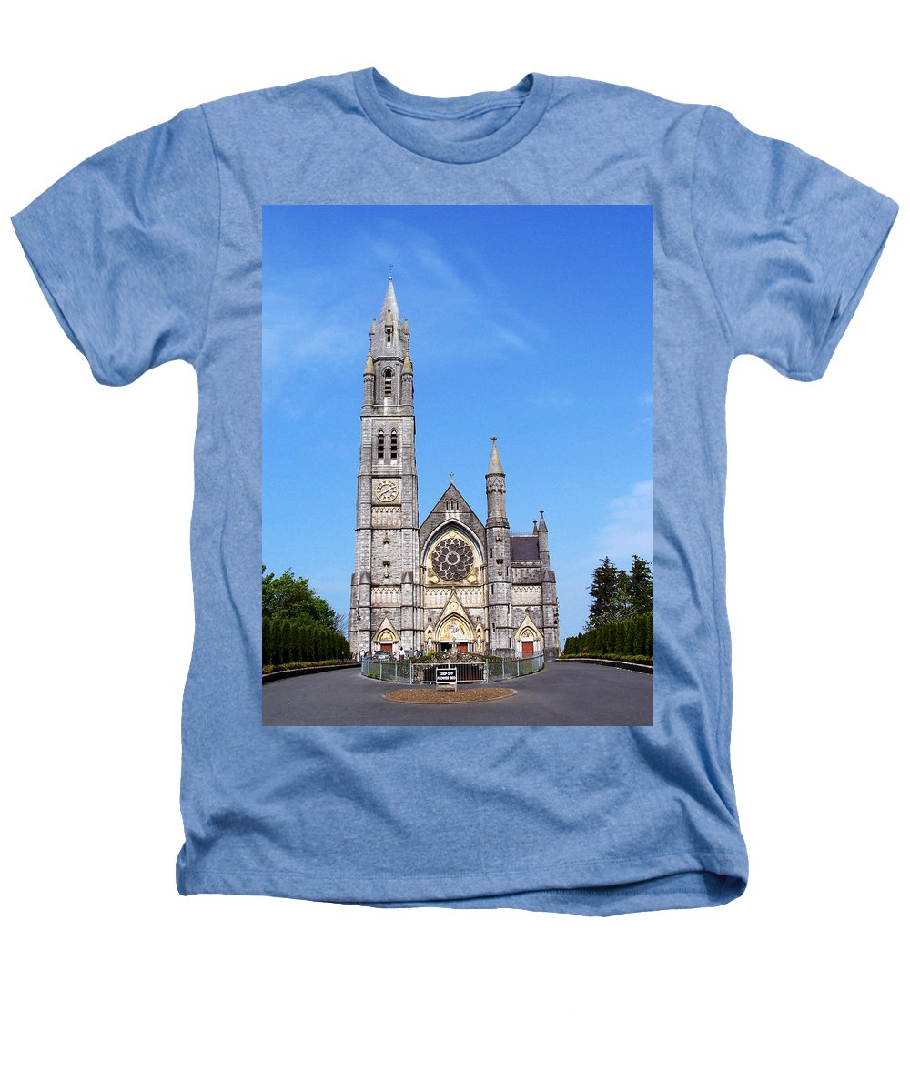 Ireland Heathers T-Shirt featuring the photograph Sacred Heart Church Roscommon Ireland by Teresa Mucha