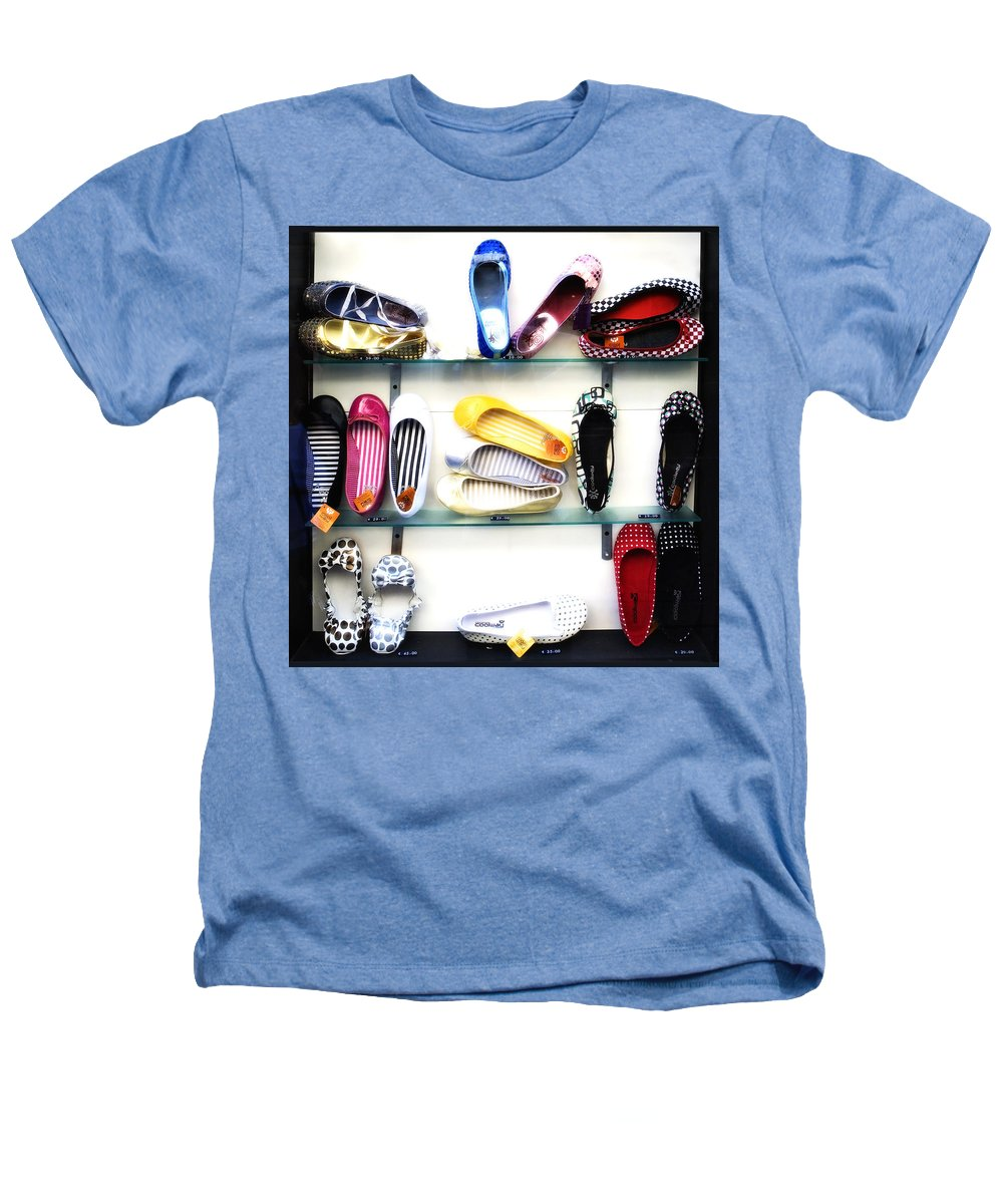 Shoes Heathers T-Shirt featuring the photograph So Many Shoes... by Marilyn Hunt