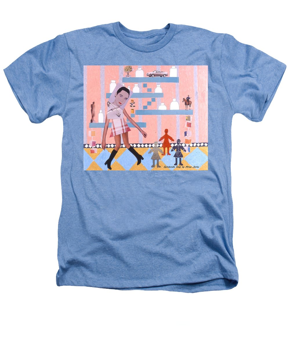 Cowboy Heathers T-Shirt featuring the drawing Soap Scene #16 Miracle Maids by Minaz Jantz