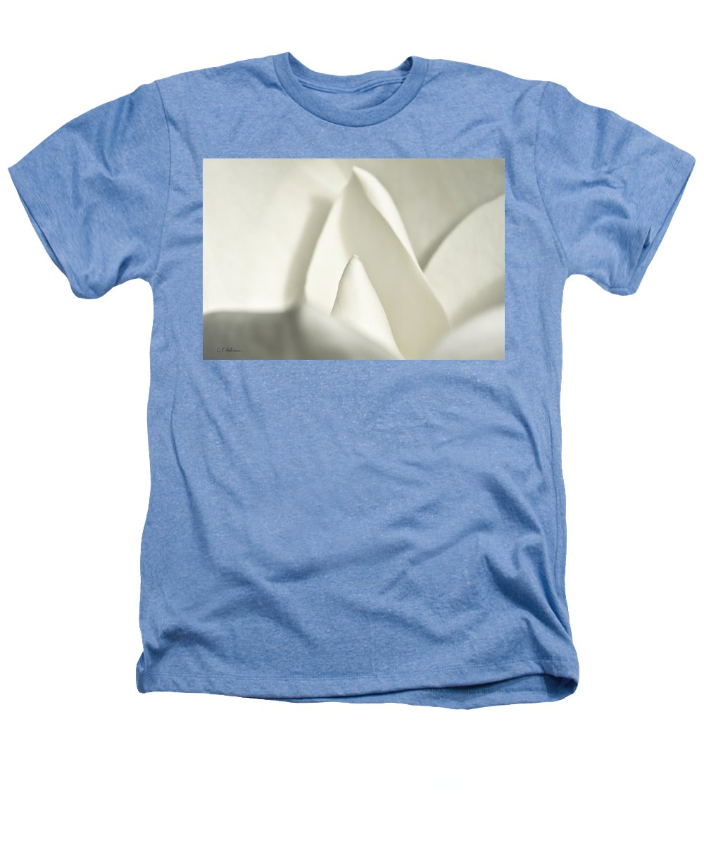 Magnolia Heathers T-Shirt featuring the photograph Soft Magnolia by Christopher Holmes