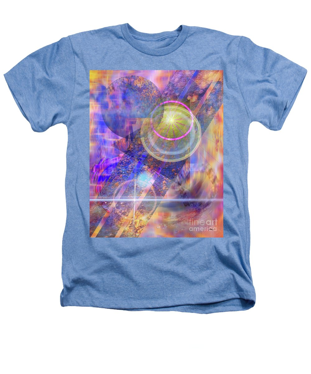 Solar Progression Heathers T-Shirt featuring the digital art Solar Progression by John Beck