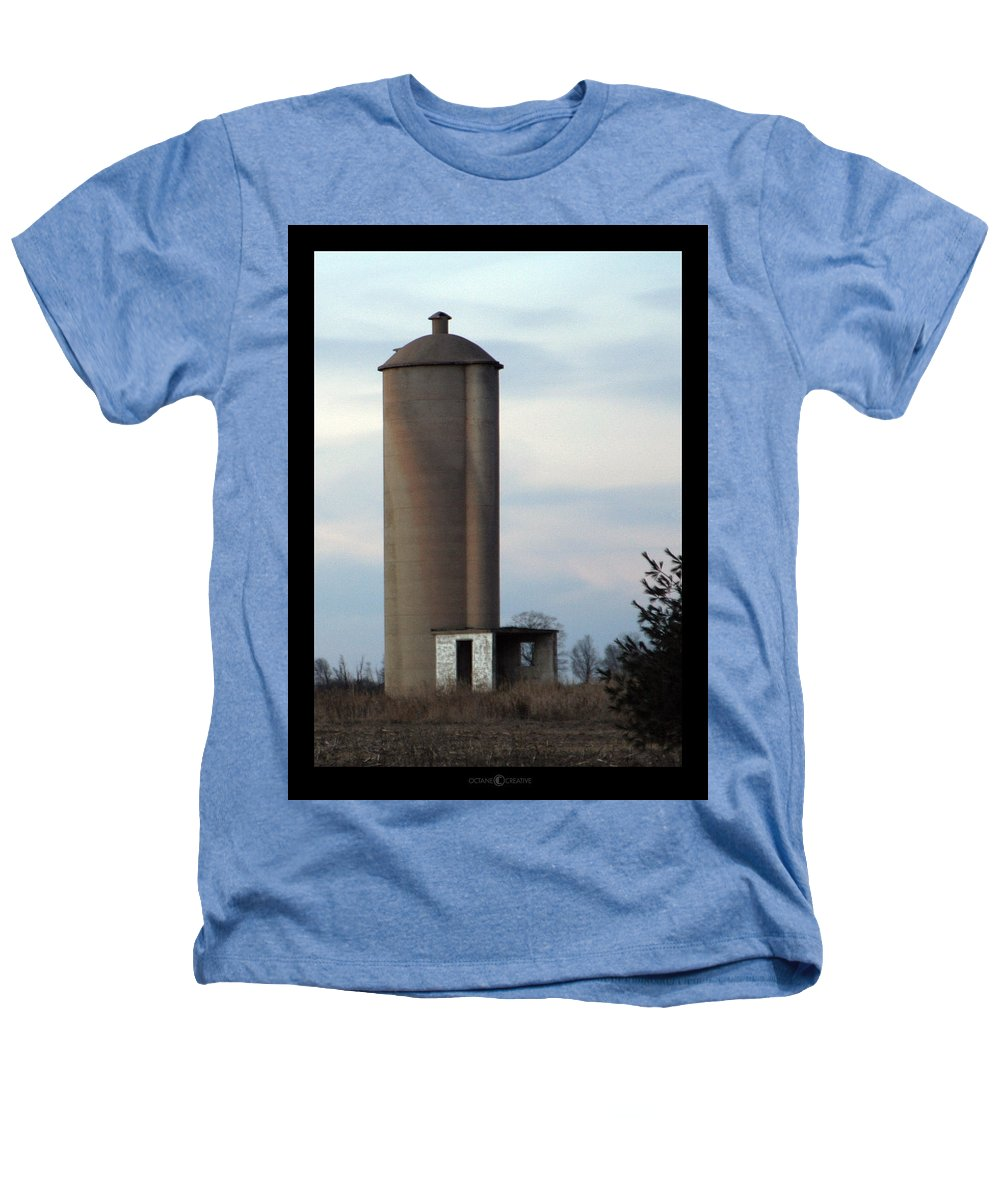Silo Heathers T-Shirt featuring the photograph Solo Silo by Tim Nyberg