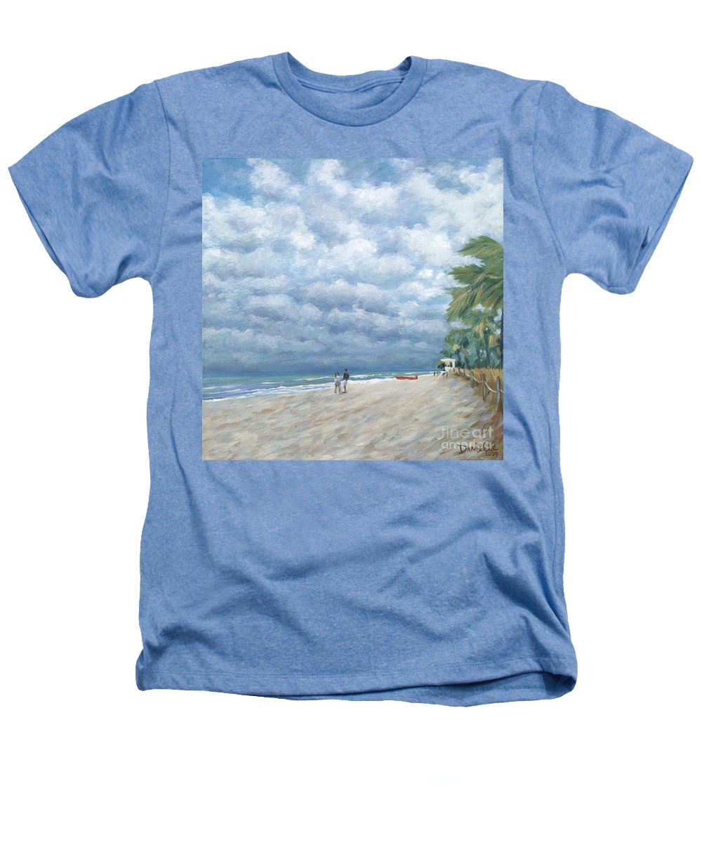 Fort Lauderdale Heathers T-Shirt featuring the painting Storm On The Horizon by Danielle Perry