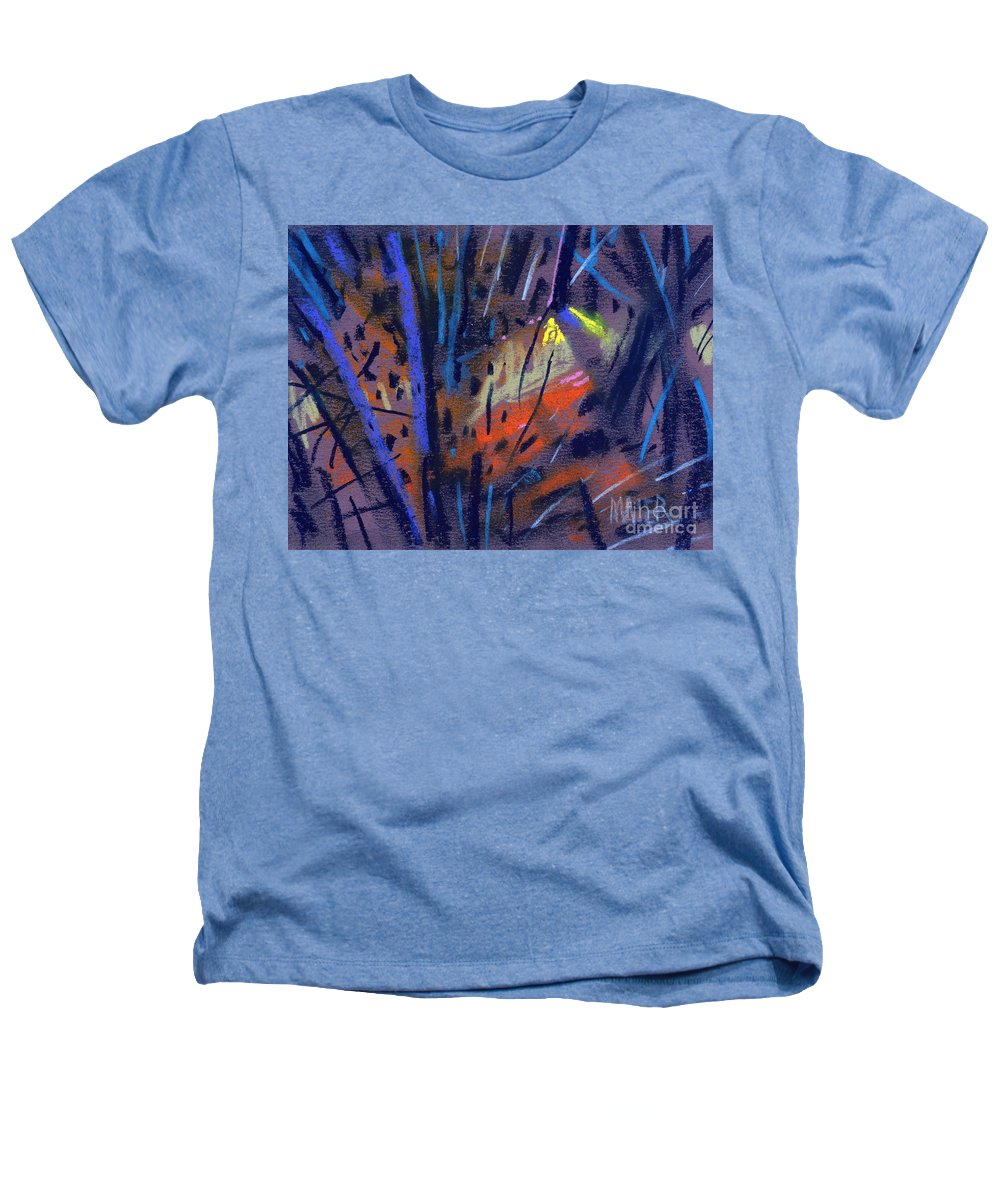 Abstract Heathers T-Shirt featuring the drawing strange Lights by Donald Maier