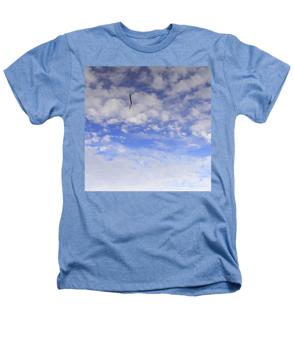 Sky Heathers T-Shirt featuring the photograph Stuck In The Clouds by Ed Smith