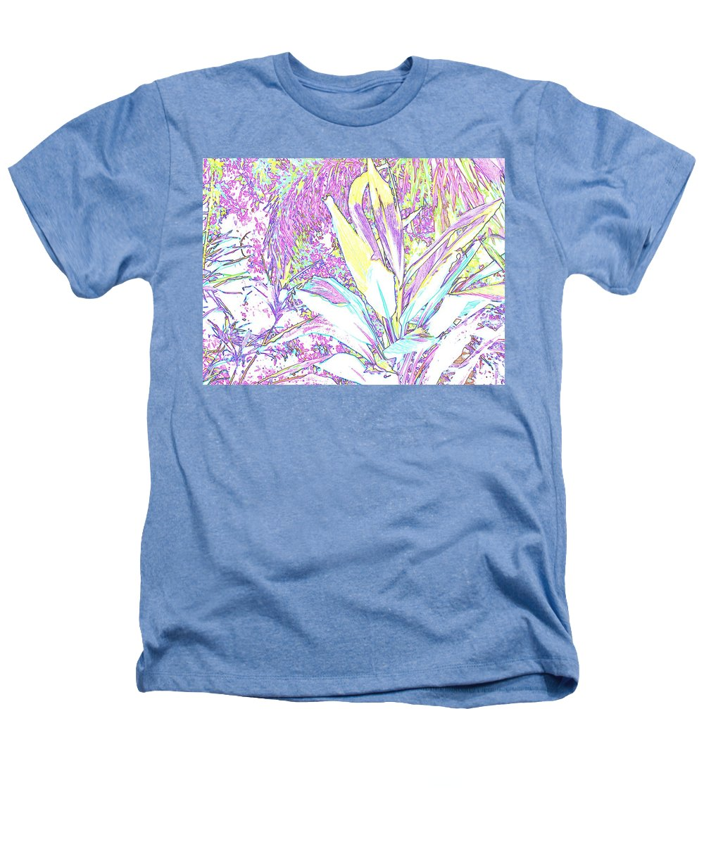 Abstract Heathers T-Shirt featuring the photograph Subtle Leaf by Ian MacDonald