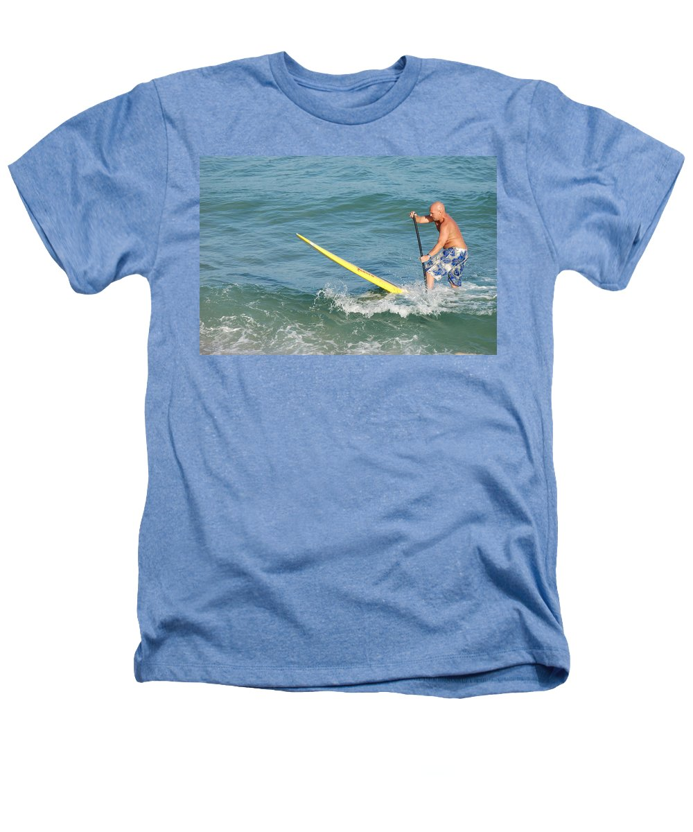 Sea Scape Heathers T-Shirt featuring the photograph Surfer Dude by Rob Hans
