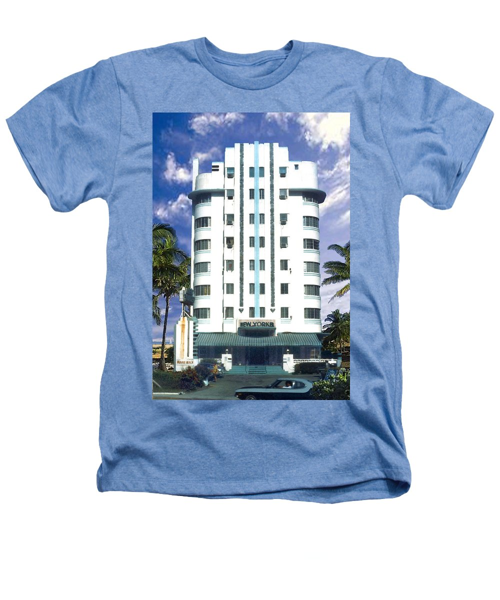 Miami Heathers T-Shirt featuring the photograph The New Yorker by Steve Karol