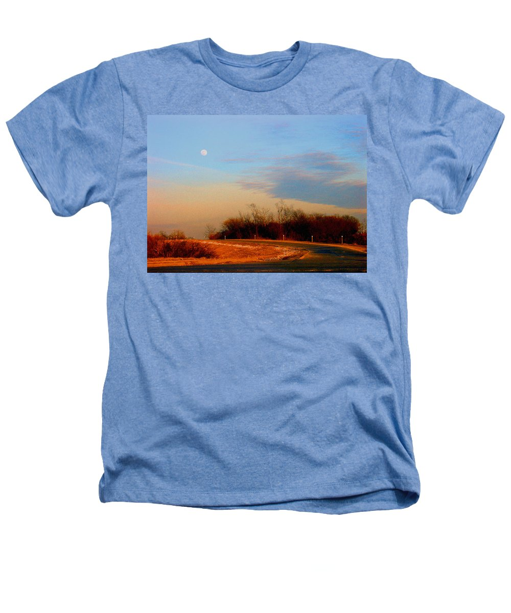 Landscape Heathers T-Shirt featuring the photograph The On Ramp by Steve Karol
