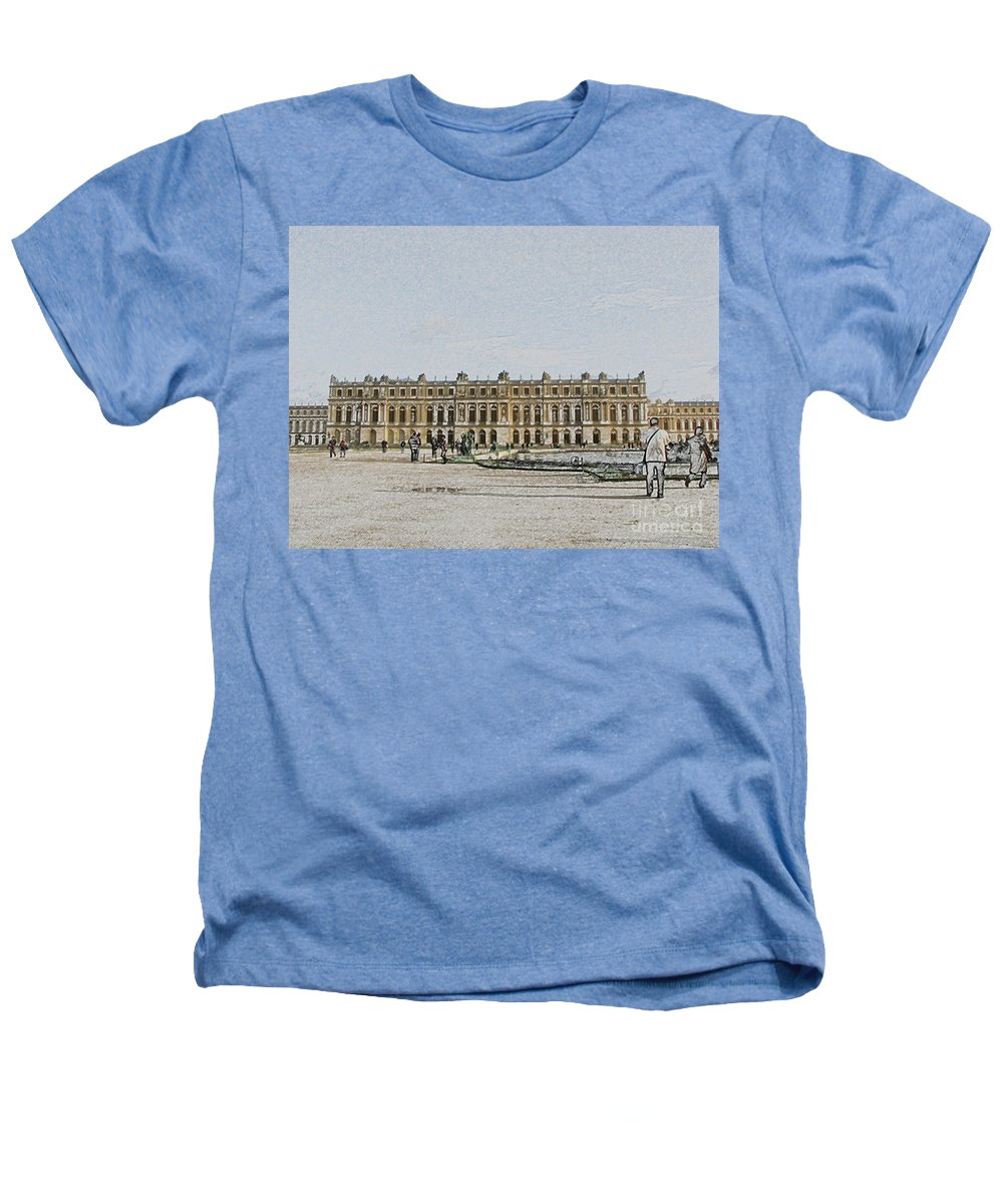 Palace Heathers T-Shirt featuring the photograph The Palace Of Versailles by Amanda Barcon