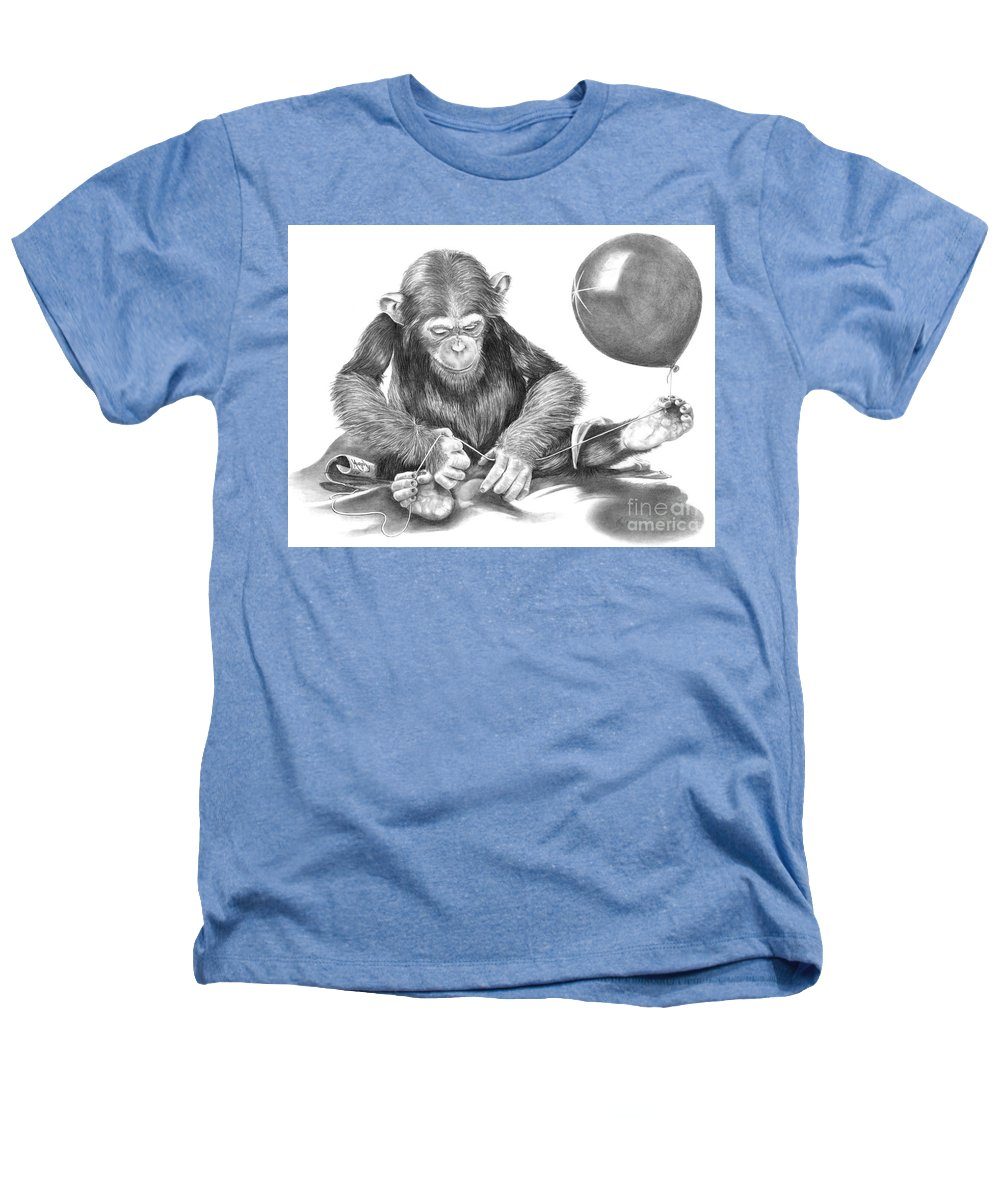 Pencil Heathers T-Shirt featuring the drawing The String Theory by Murphy Elliott
