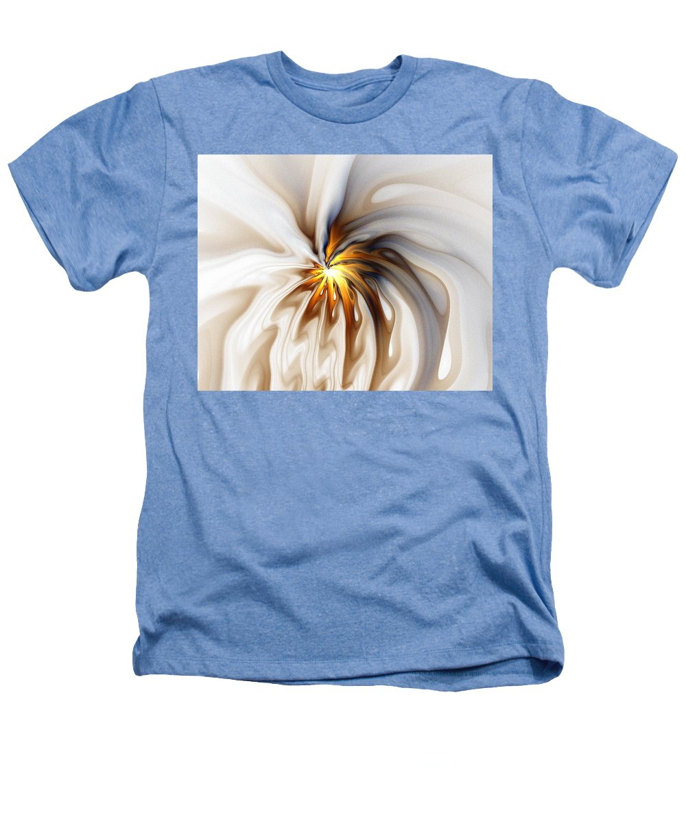 Digital Art Heathers T-Shirt featuring the digital art This Too Will Pass... by Amanda Moore