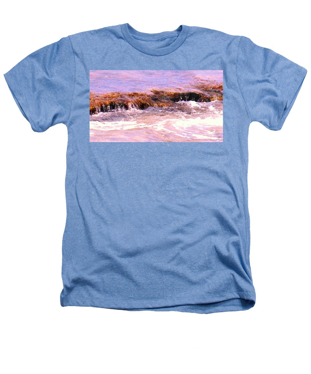 Tide Heathers T-Shirt featuring the photograph Tidal Pool by Ian MacDonald