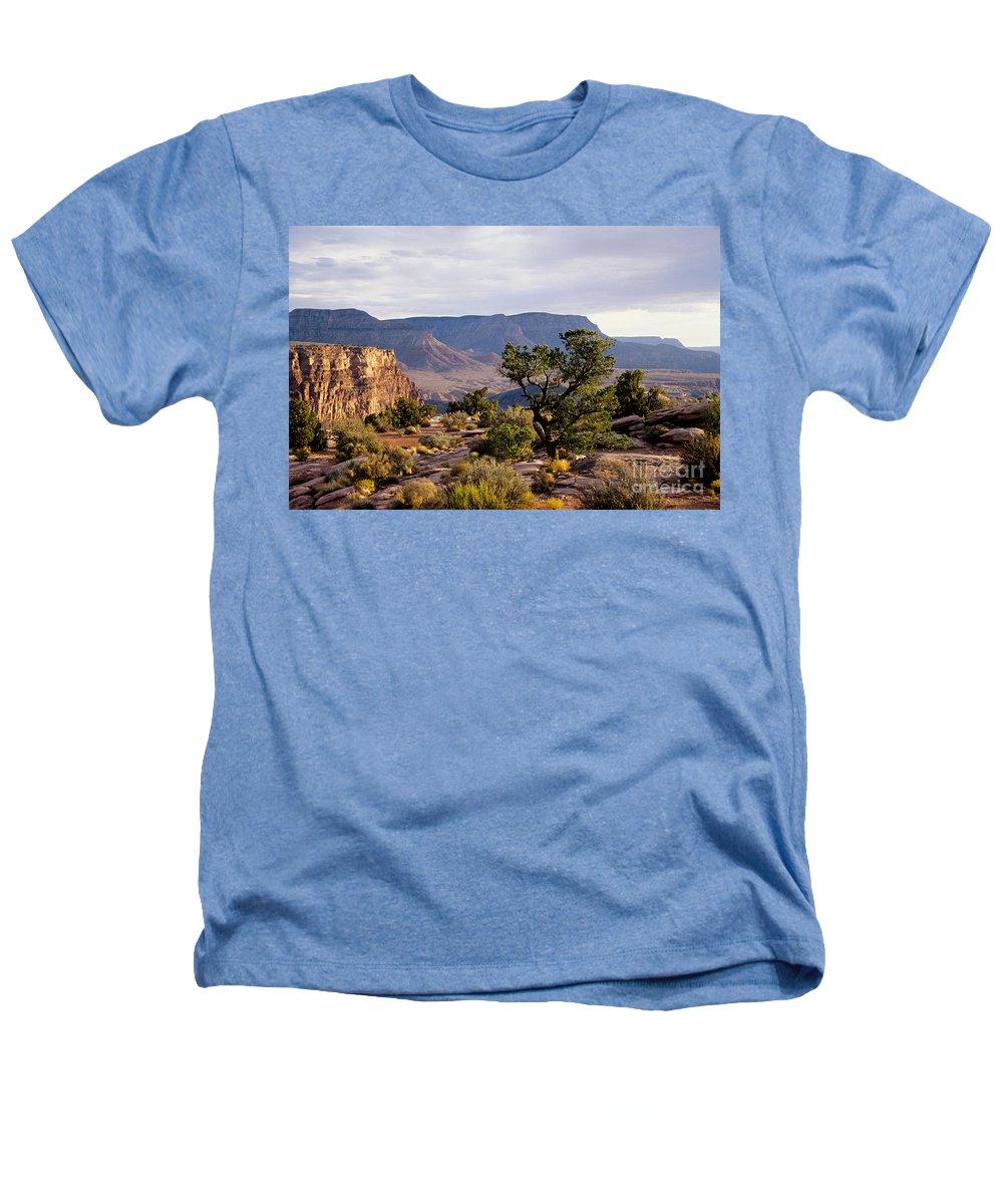 Arizona Heathers T-Shirt featuring the photograph Toroweap by Kathy McClure