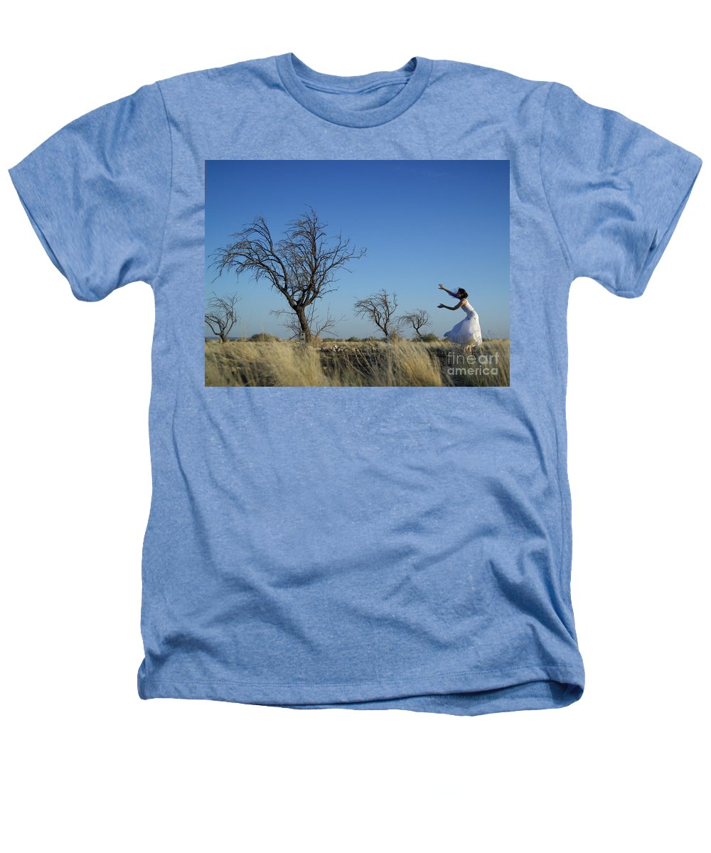 Landscape Heathers T-Shirt featuring the photograph Tree Echo by Scott Sawyer