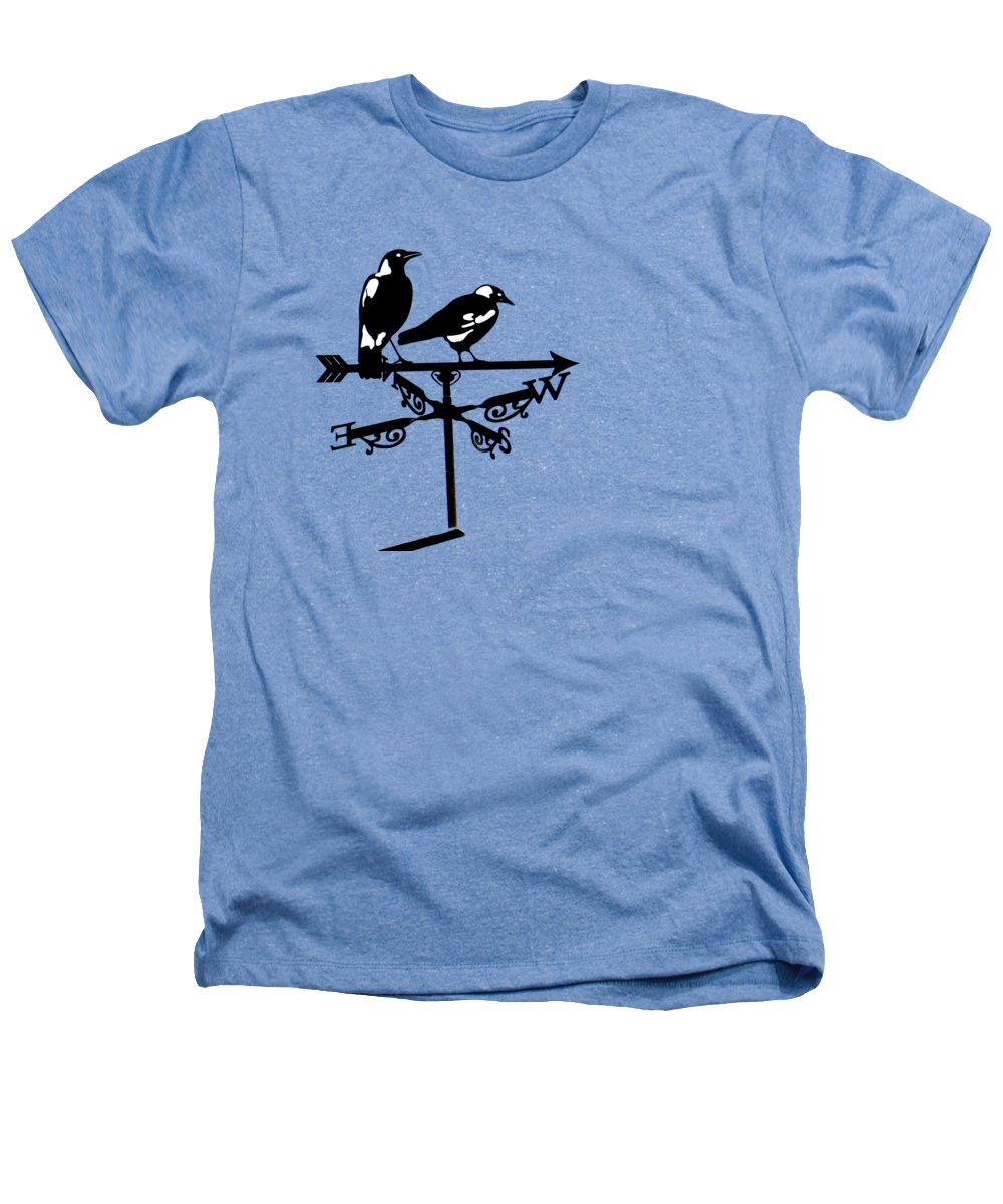 Magpies Heathers T-Shirts