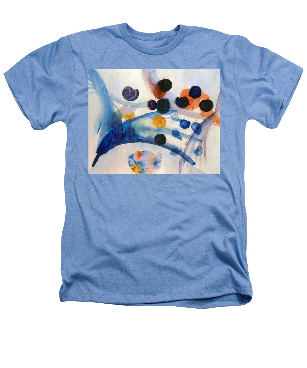Abstract Heathers T-Shirt featuring the painting Under The Sea by Steve Karol