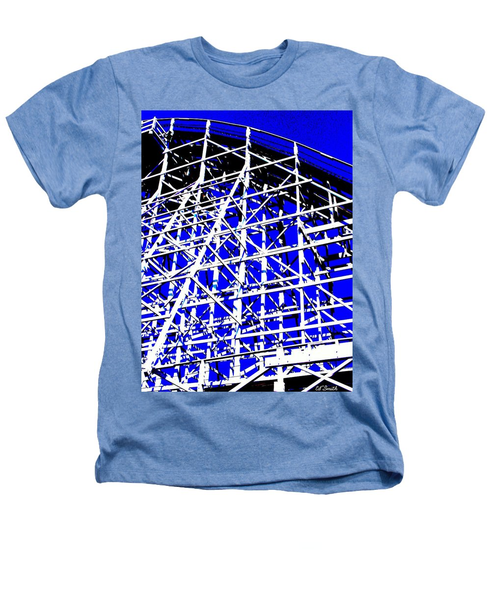 Up And Away Heathers T-Shirt featuring the photograph Up And Away by Ed Smith