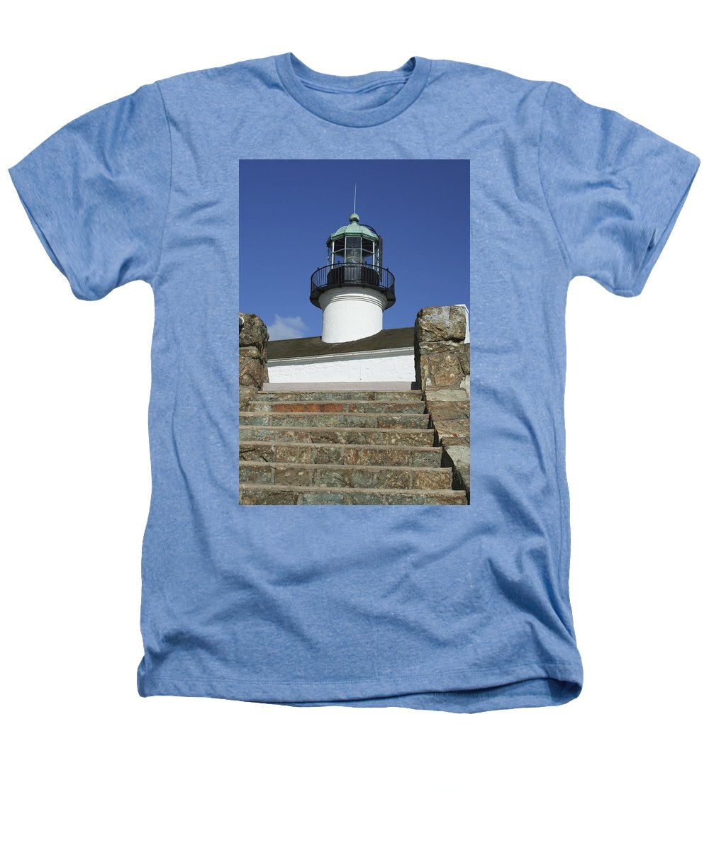 Bay Heathers T-Shirt featuring the photograph Up To The Light by Margie Wildblood