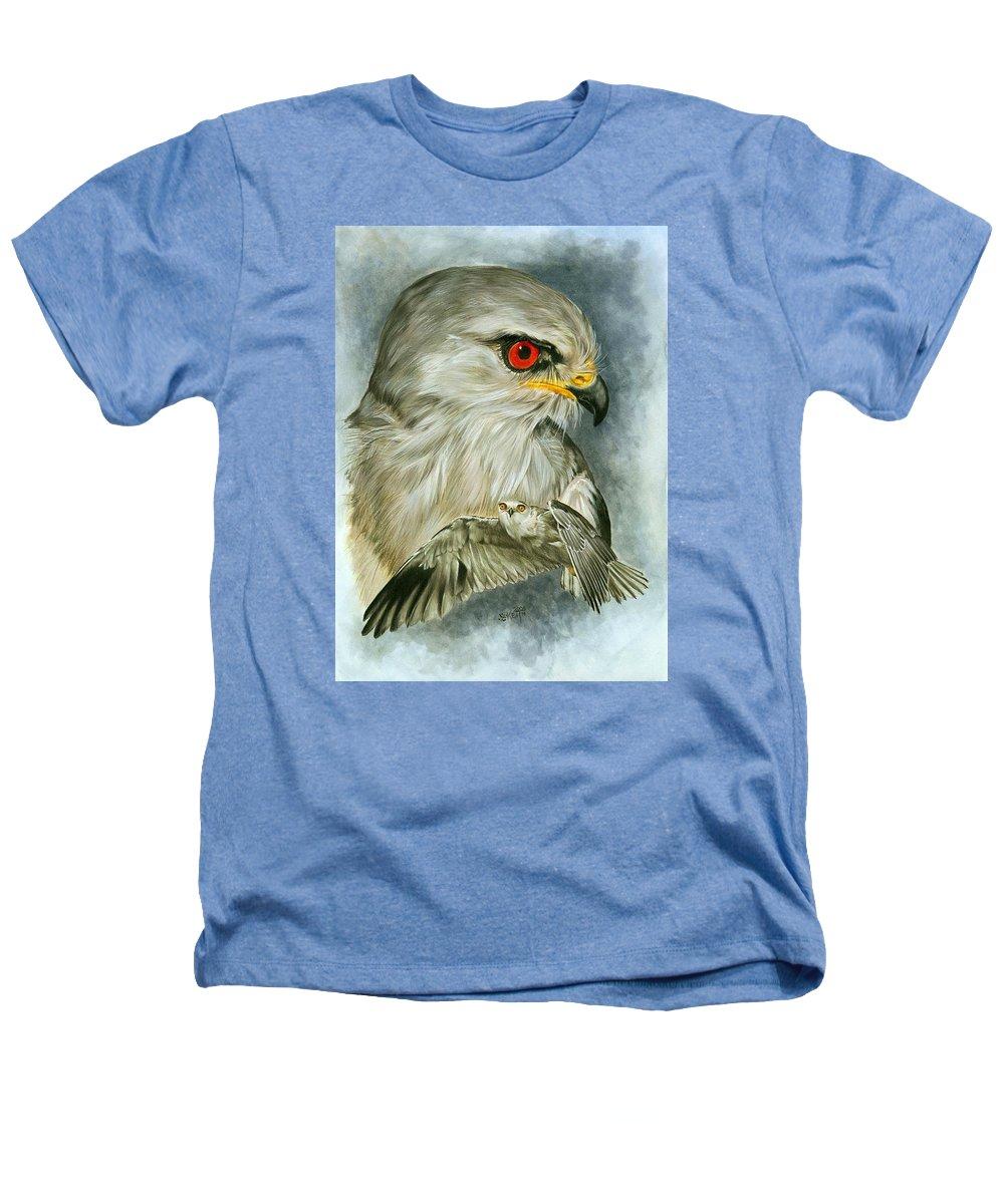 Kite Heathers T-Shirt featuring the mixed media Velocity by Barbara Keith