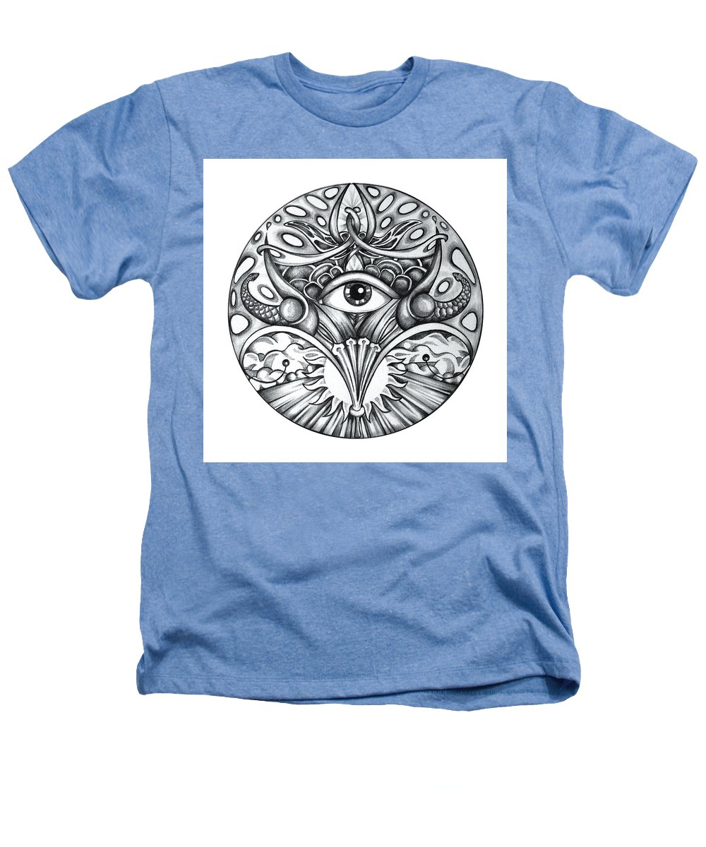 Eye Heathers T-Shirt featuring the drawing Vision by Shadia Derbyshire