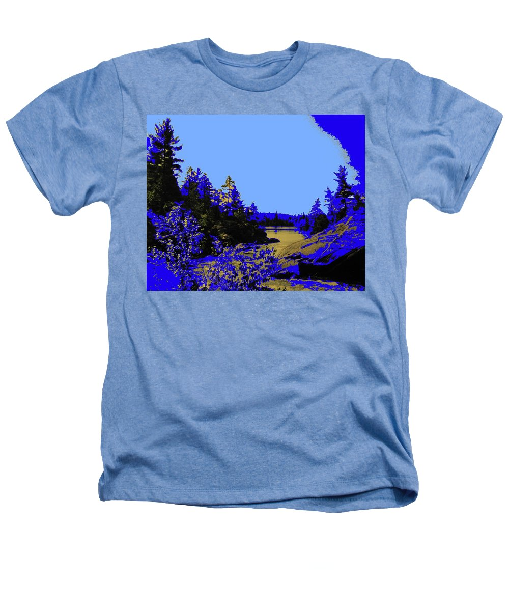 Northern Heathers T-Shirt featuring the photograph Wanapitae River Morning by Ian MacDonald