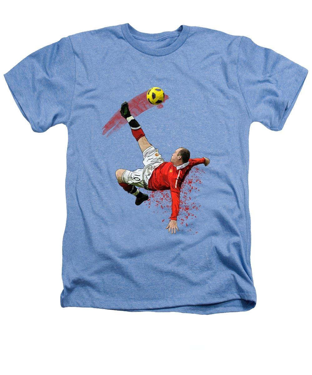 Wayne Rooney Heathers T-Shirts