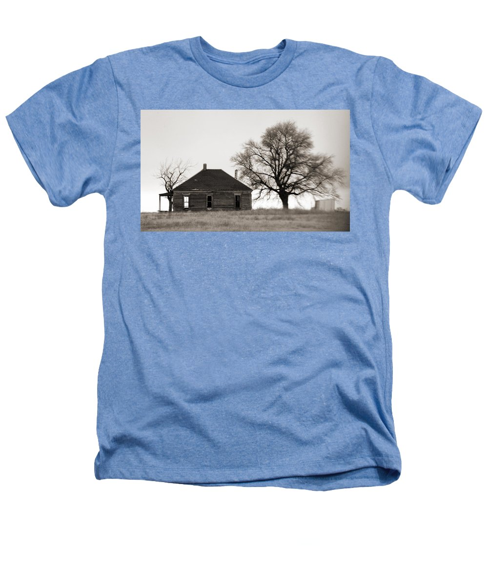 Texas Heathers T-Shirt featuring the photograph West Texas Winter by Marilyn Hunt