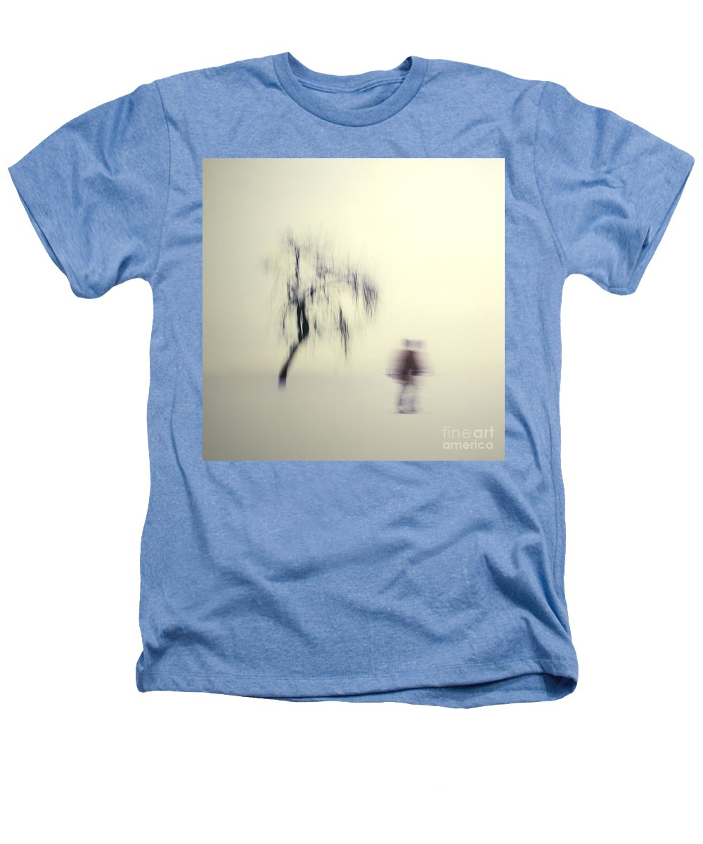 Blur Heathers T-Shirt featuring the photograph What Is The Way To The Light by Dana DiPasquale