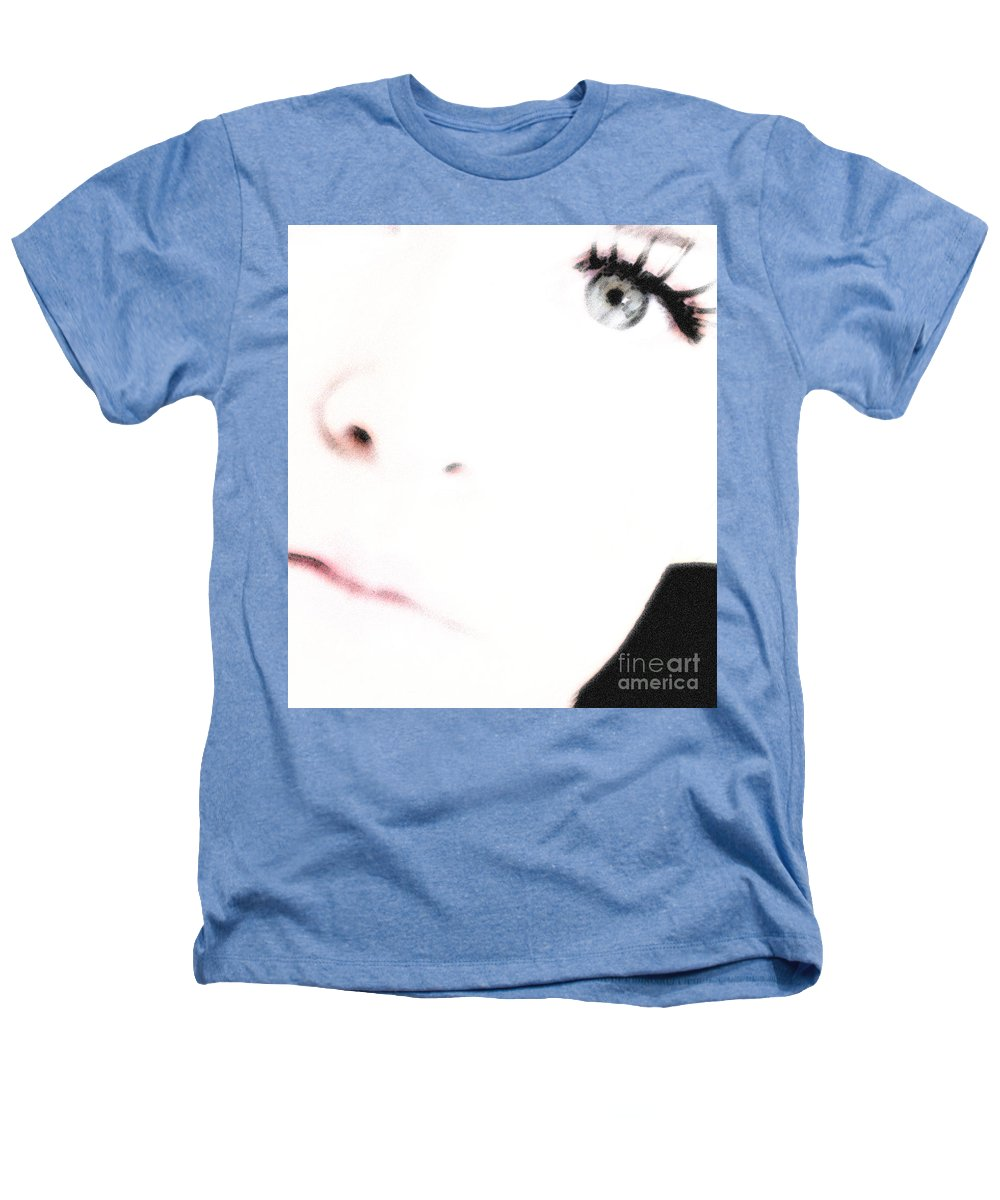 Face Heathers T-Shirt featuring the photograph Where Is The Soul by Amanda Barcon