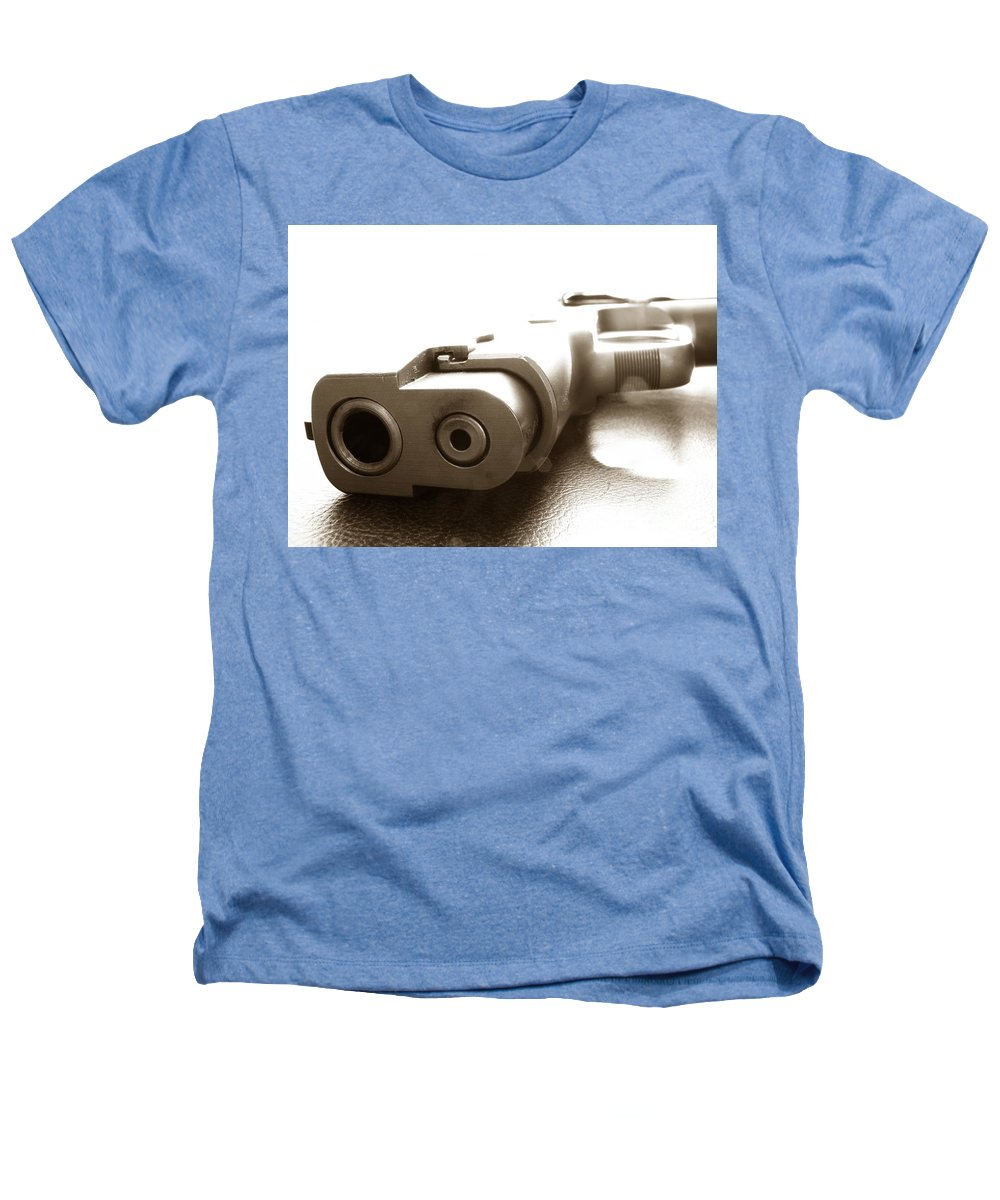 Gun Heathers T-Shirt featuring the photograph Why by Amanda Barcon