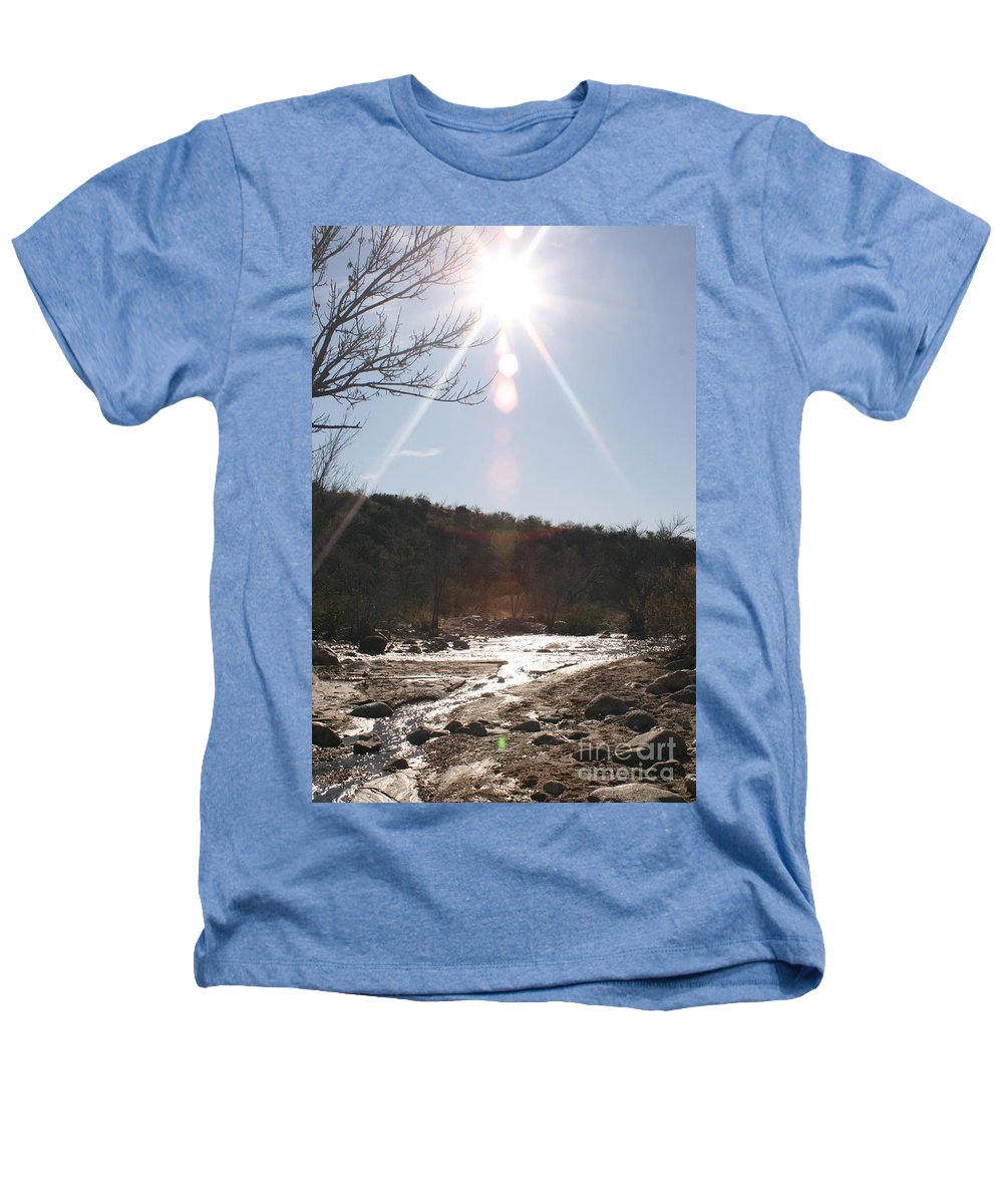 Winter Heathers T-Shirt featuring the photograph Winter Light by Nadine Rippelmeyer