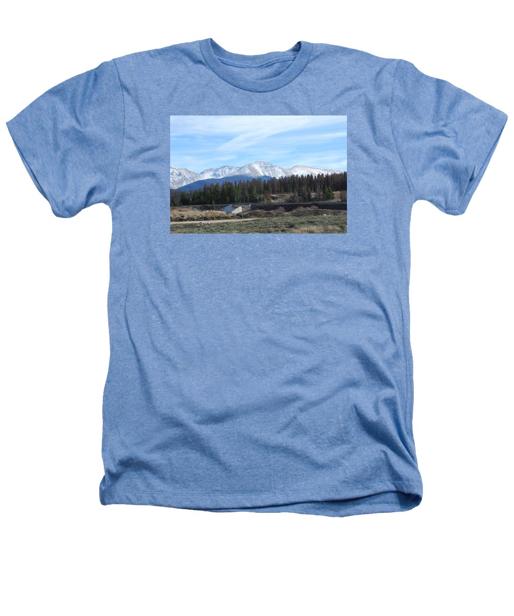 Colorado Heathers T-Shirt featuring the photograph Winter Park Colorado by Margaret Fortunato