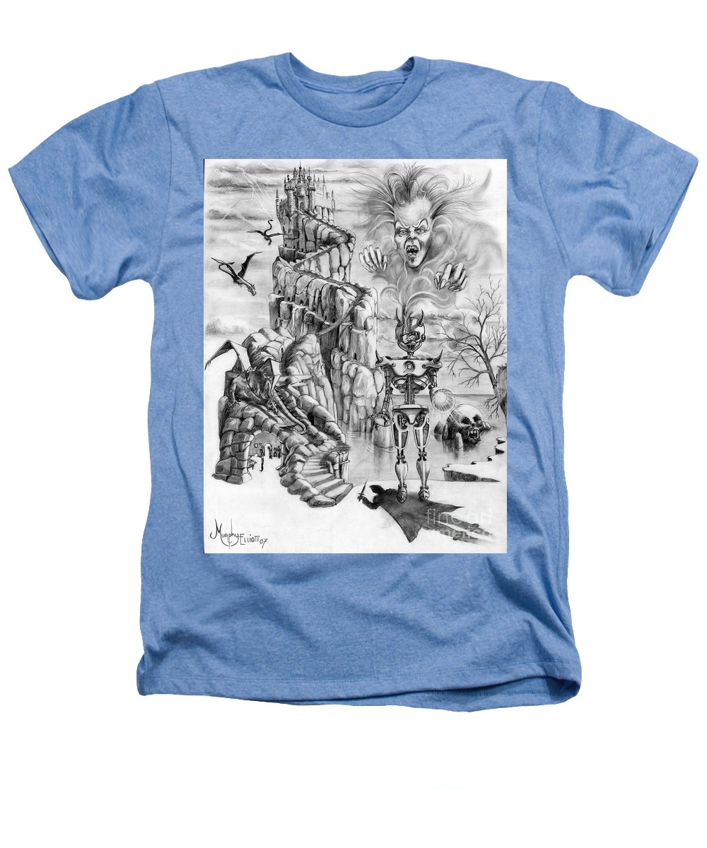 Witch Heathers T-Shirt featuring the drawing Witch Hunter by Murphy Elliott
