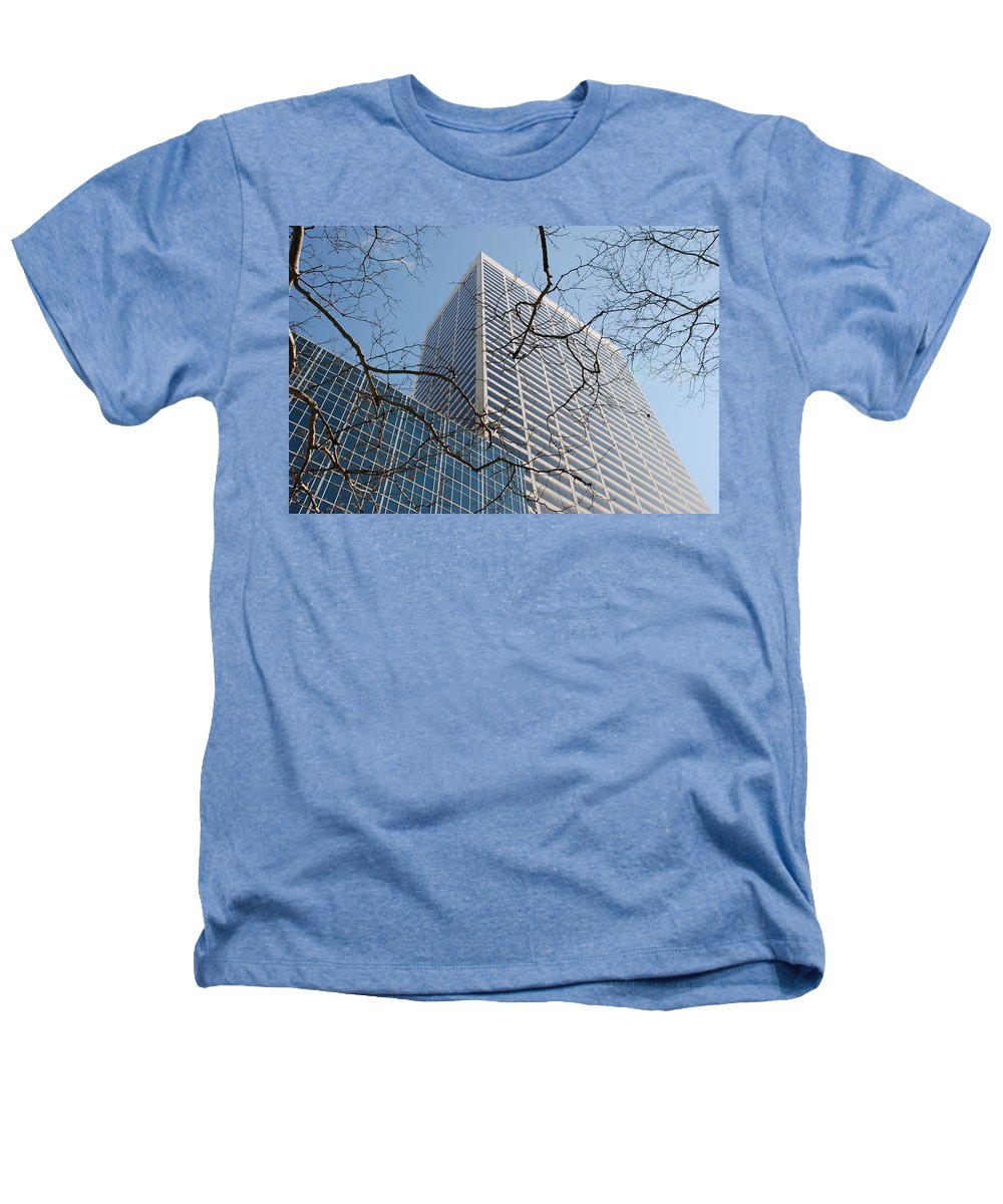 Architecture Heathers T-Shirt featuring the photograph Wood And Glass by Rob Hans