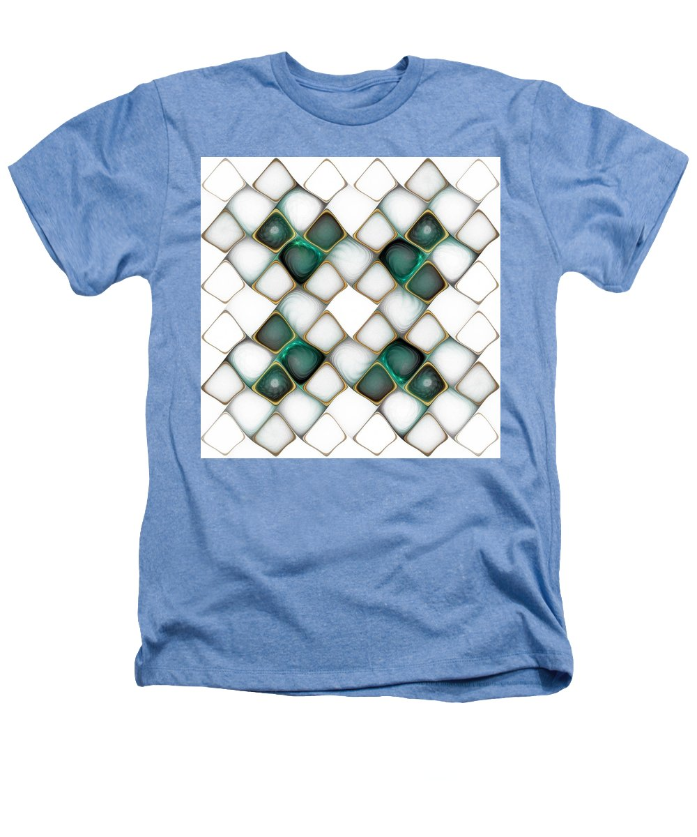 Digital Art Heathers T-Shirt featuring the digital art X Marks The Spot by Amanda Moore