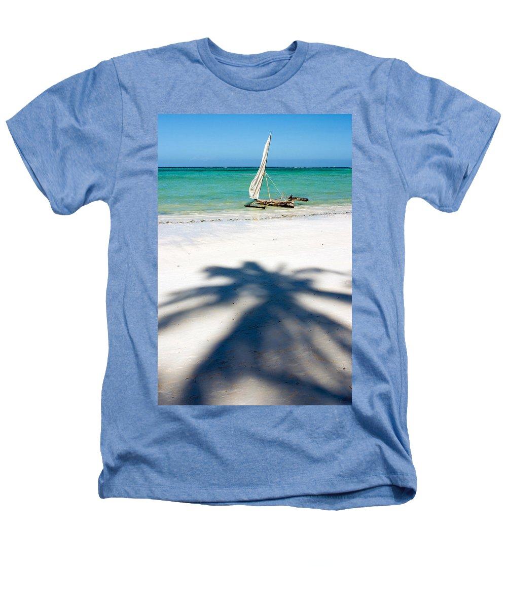 3scape Heathers T-Shirt featuring the photograph Zanzibar Beach by Adam Romanowicz