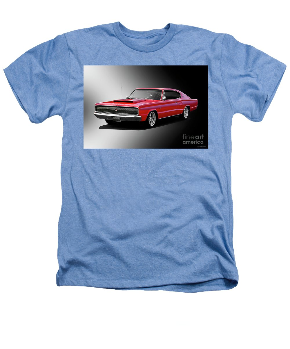 1966 Dodge 383 Charger Heathers T Shirt For Sale By Dave Koontz