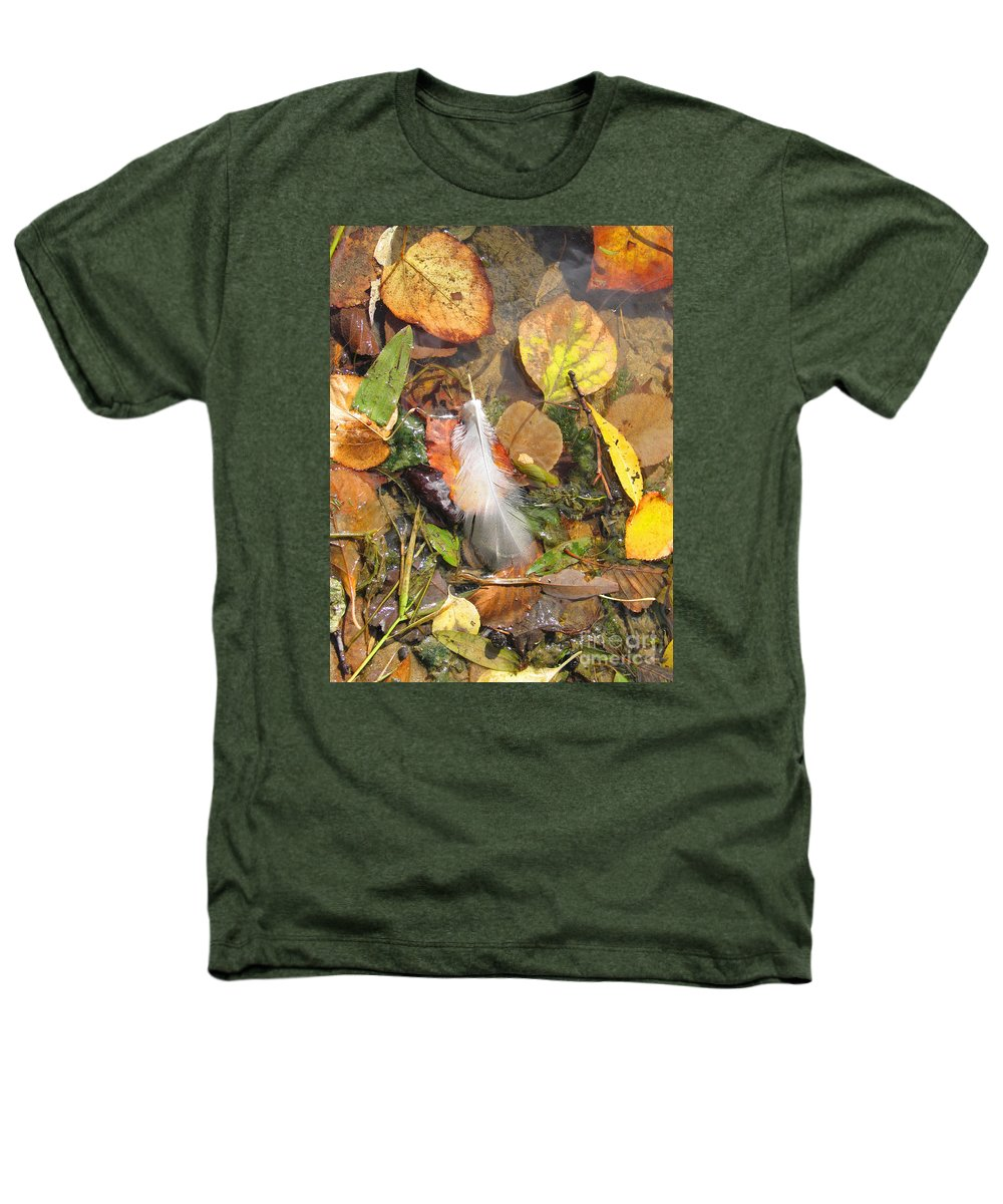 Autumn Heathers T-Shirt featuring the photograph Autumn Leavings by Ann Horn