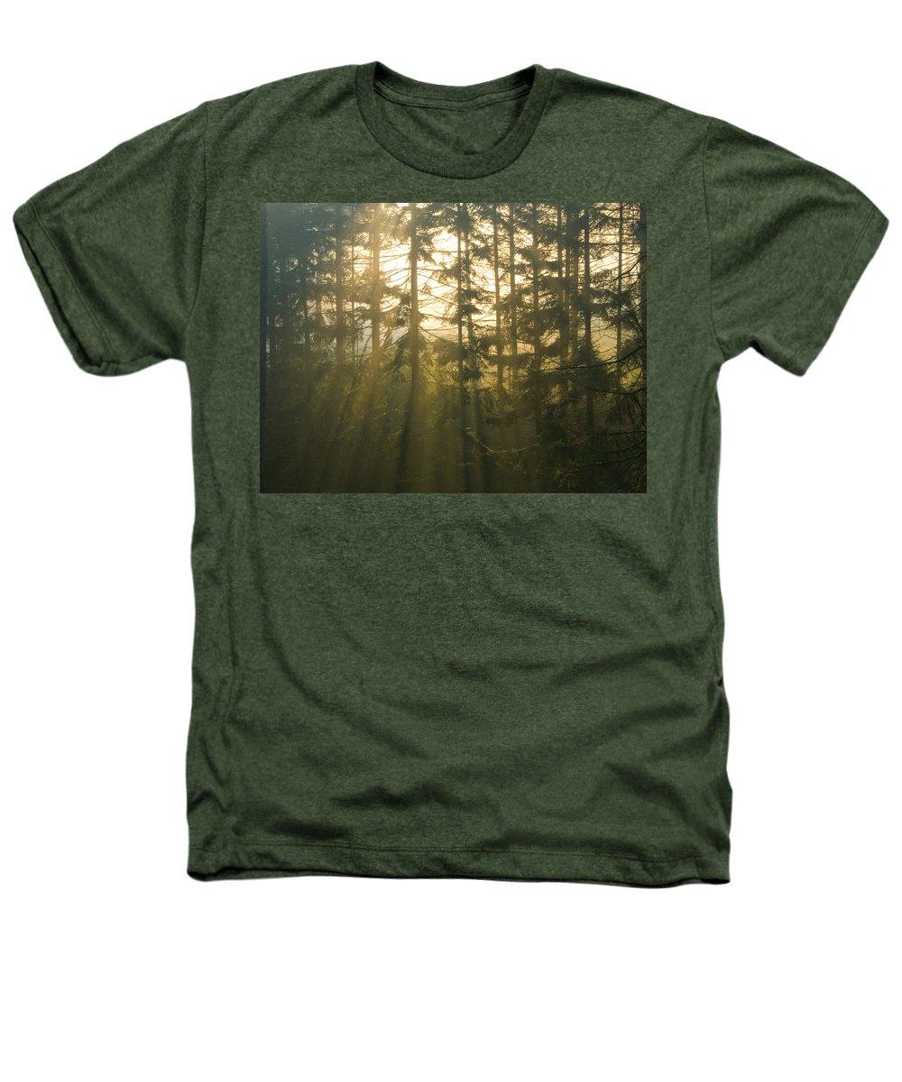 Light Heathers T-Shirt featuring the photograph Awe by Daniel Csoka