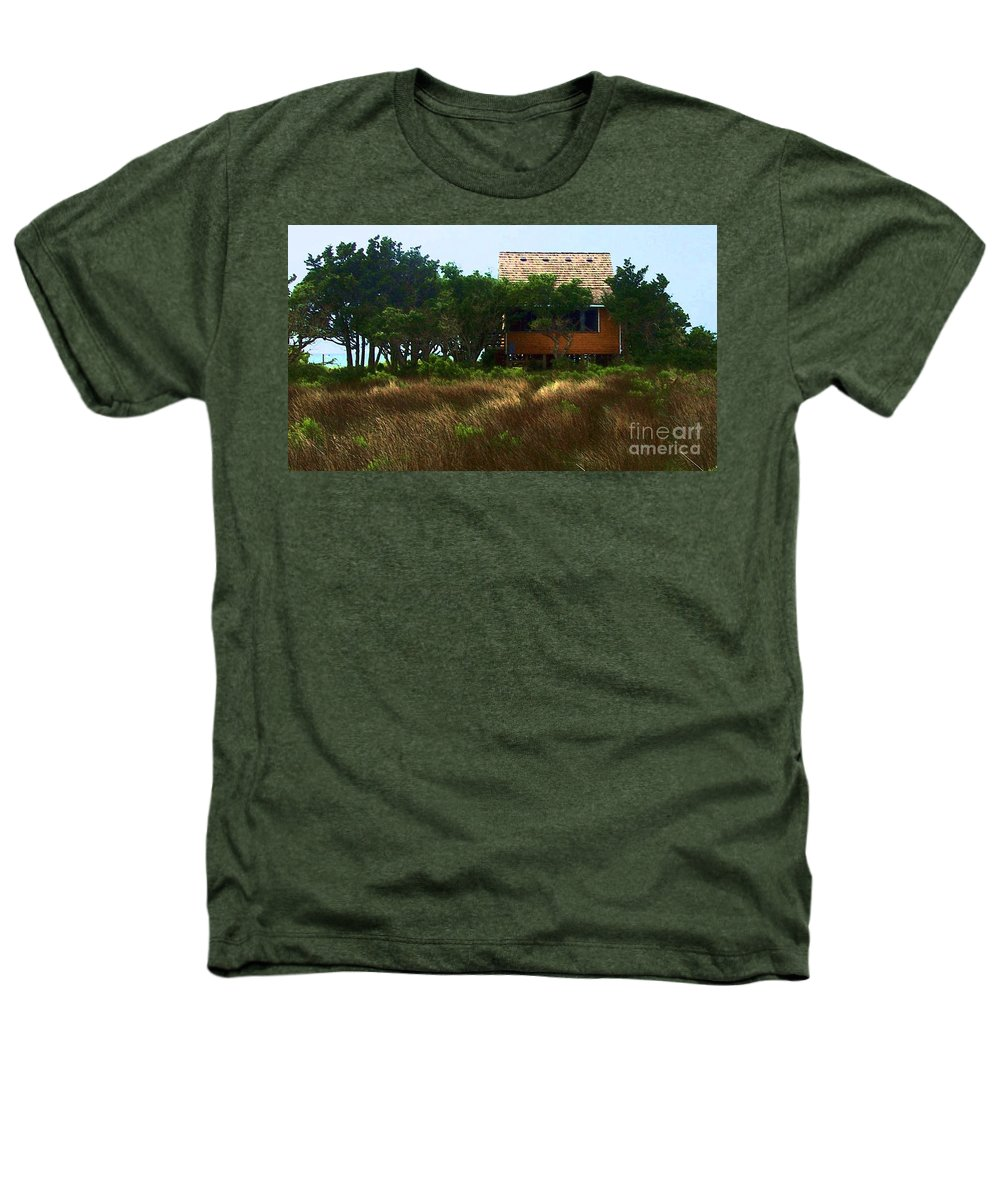Beach Heathers T-Shirt featuring the photograph Back To The Island by Debbi Granruth