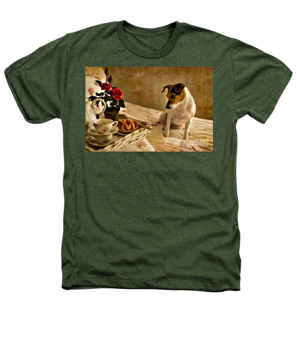 Heathers T-Shirt featuring the photograph Bon Appetit by Jean Hildebrant