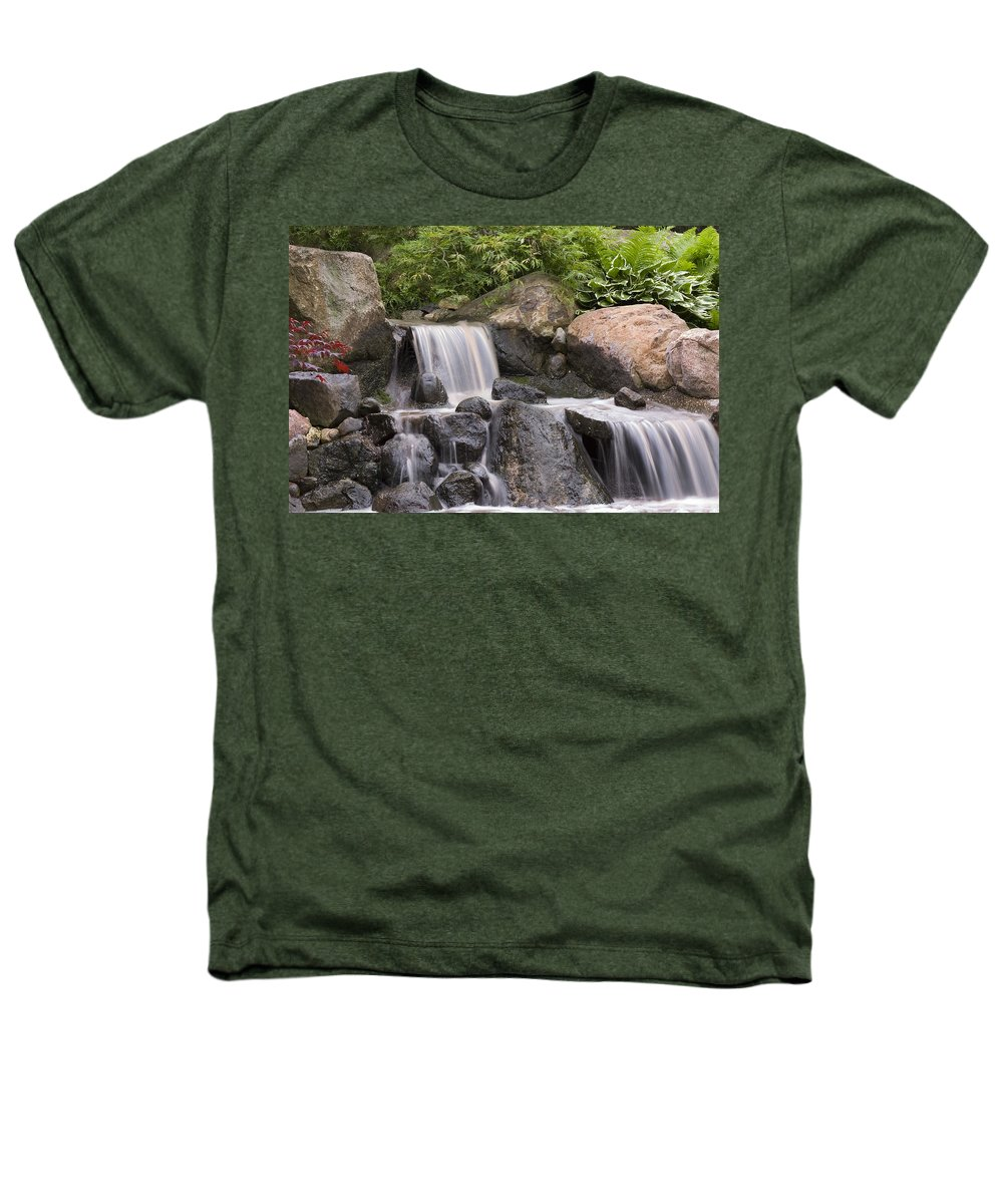 3scape Photos Heathers T-Shirt featuring the photograph Cascade Waterfall by Adam Romanowicz