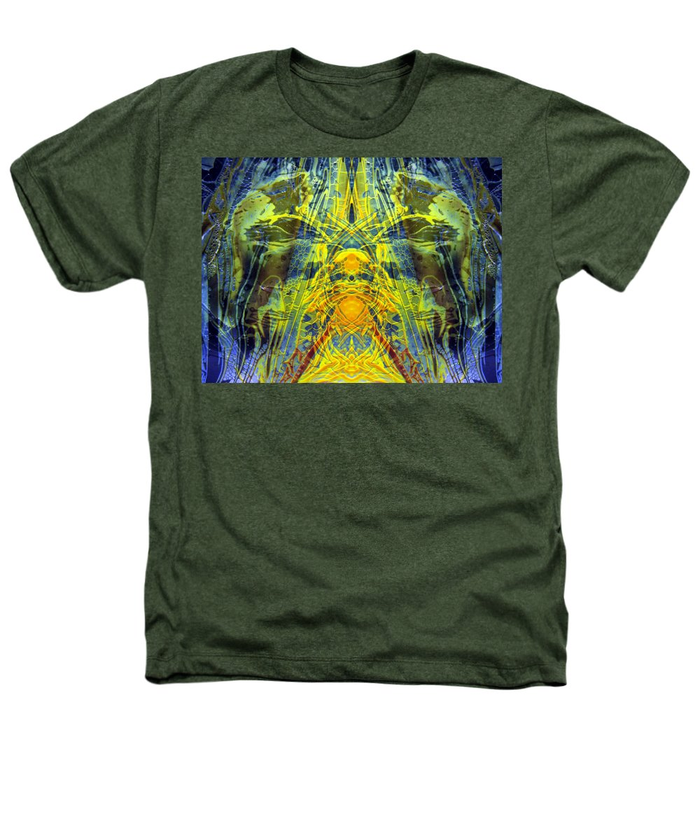 Surrealism Heathers T-Shirt featuring the digital art Decalcomaniac Intersection 1 by Otto Rapp