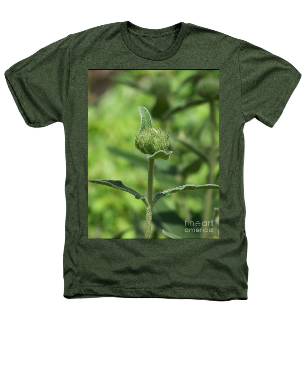 Plants Heathers T-Shirt featuring the photograph Its A Green World by Kathy McClure