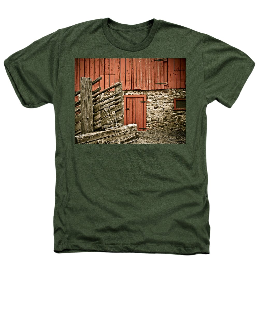 Old Heathers T-Shirt featuring the photograph Old Wood by Marilyn Hunt