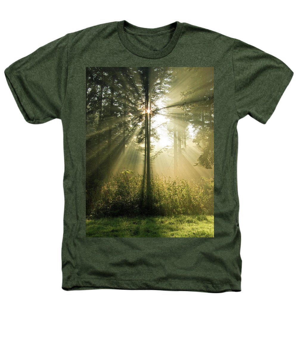 Nature Heathers T-Shirt featuring the photograph Splendour by Daniel Csoka