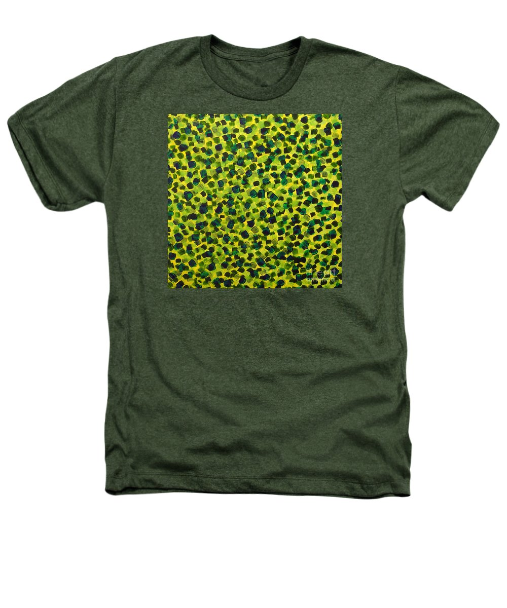 Abstract Heathers T-Shirt featuring the painting Sunlight Through The Trees 2 by Dean Triolo