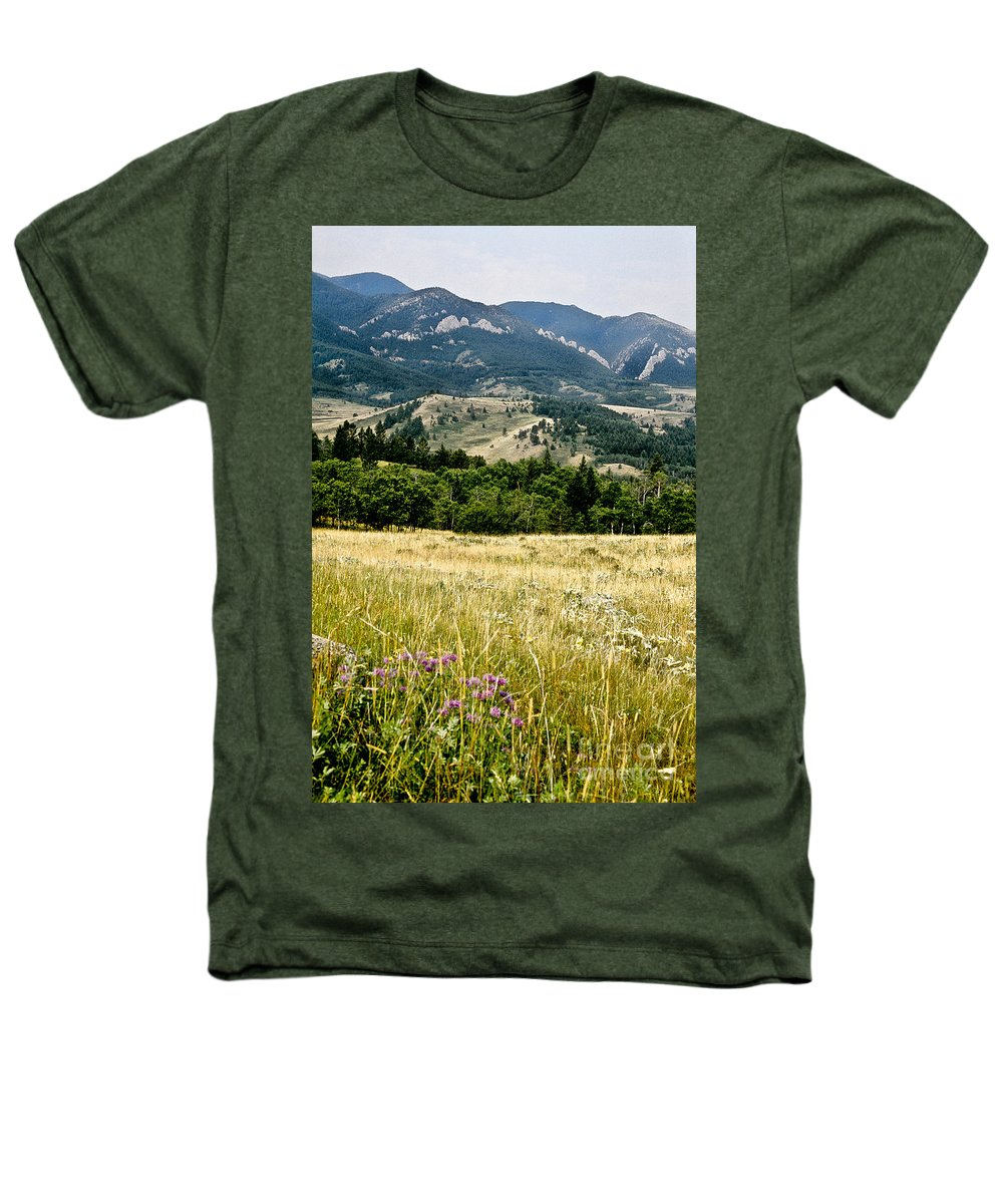 Wilderness Heathers T-Shirt featuring the photograph Washake Wilderness by Kathy McClure