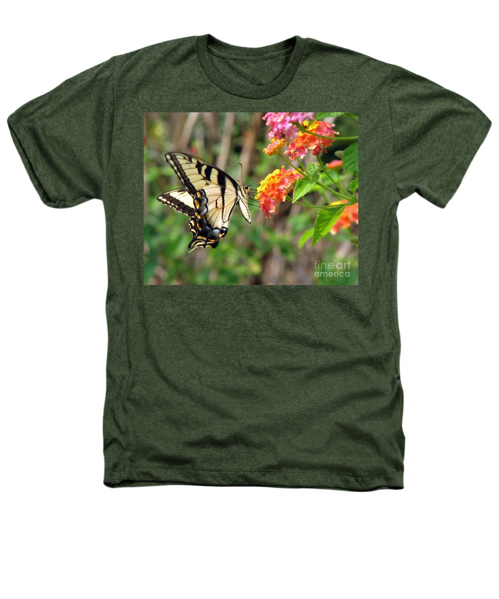 Butterfly Heathers T-Shirt featuring the photograph Butterfly by Amanda Barcon